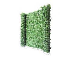 Balkonsichtschutz Buchenhecke, Windschutz Verkleidung für Terrasse Zaun ~ 300x100cm