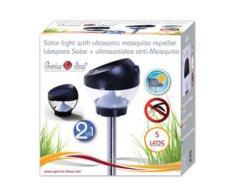 1x Solarleuchte mit Mückenschutz Gartenleuchte 5 x LED Solarlampe Gartenlampe