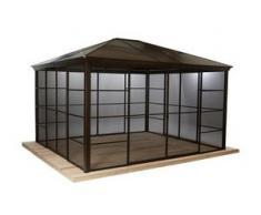 Sojag-Premium-Pavillon »Castel« mit Schiebetüren, ca. 362 x 298 cm