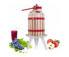 COSTWAY Weinpresse Obstpresse Saftpresse Fruchtpresse Apfelpresse mechanische Presse Maischepresse in verschiedenen Groessen 6L