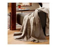 Biederlack Wohndecke Warm Shades Concrete 150x200 cm, braun,beige