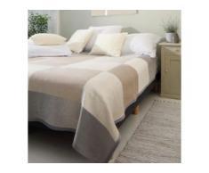 Biederlack Wohndecke Across 220x240 cm, grau,beige,braun