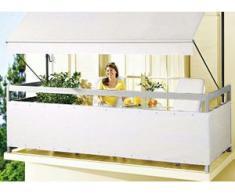 """Balkonbespannung """"Style"""" in verschiedenen Farben, Größe 075 (Höhe ca. 75 cm), Beige"""