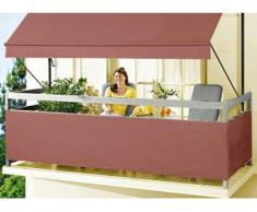 """Balkonbespannung """"Style"""" in verschiedenen Farben, Größe 075 (Höhe ca. 75 cm), Terra"""