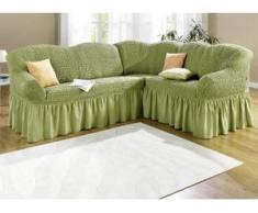 Stretchbezüge, verschiedene Ausführungen, Größe 905 (Kissenbezug, 40x40 cm), Grün