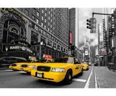 papermoon Vlies- Fototapete Digitaldruck 350 x 260 cm, Time Square HR Cafe