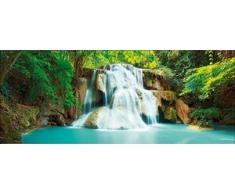 Deco-Glas Bild - Wasserfall 125 x 50 cm