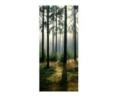 papermoon Vlies-Fototapete Wand & Türdekor Digitaldruck 90 x 200 cm, Forest