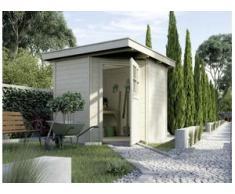 Weka Gartenhaus Nantje Gr.1 natur, Wandstärke 21 mm, 209 x 205 cm