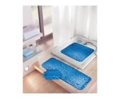 Kleine Wolke Wanneneinlage Bubble 36 x 92 cm, marineblau