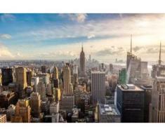papermoon Vlies- Fototapete Digitaldruck 350 x 260 cm, New York City Skyline