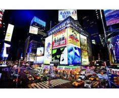 papermoon Vlies- Fototapete Digitaldruck 250 x 180 cm, New York Time Square