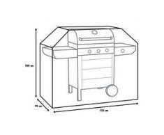 Primaster Atmungsaktive Schutzhülle Universal für Gasgrill und Grillwagen