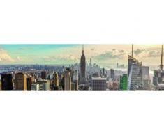 papermoon Vlies- Fototapete Digitaldruck 350 x 100 cm, Digitaldruck New York