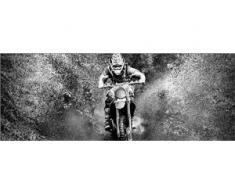 Deco-Glas Bild - Motocross 80 x 30 cm