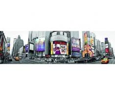 papermoon Vlies- Fototapete Digitaldruck 350 x 100 cm, New York Time Square