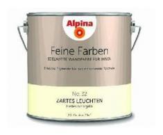 Alpina Feine Farbe No. 32 2,5 l, helles lichtgelb, Zartes Leuchten