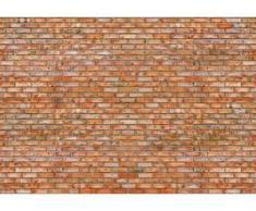 papermoon Vlies- Fototapete Digitaldruck 350 x 260 cm, Brickwall