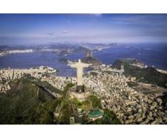 papermoon Vlies- Fototapete Digitaldruck 350 x 260 cm, Rio de Janeiro