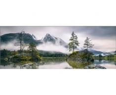 Deco-Glas Bild - Herbstlandschaft 80 x 30 cm