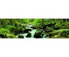 papermoon Vlies- Fototapete Digitaldruck 350 x 100 cm, Soft Water Stream