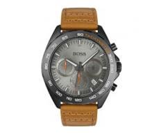 Hugo Boss Boss Herren-Uhren Analog Quarz Braun Braun Leder 32000832