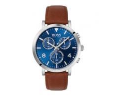 Hugo Boss Boss Herren-Uhren Analog Quarz Braun Braun Leder 32005888