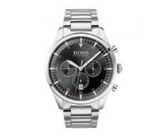 Hugo Boss Boss Herren-Uhren Analog Quarz Silber Silber Edelstahl 32010606