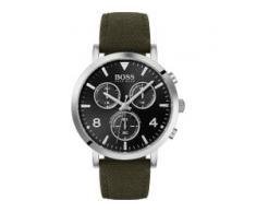 Hugo Boss Boss Herren-Uhren Analog Quarz Grün Grün Leder 32005888