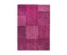 Webteppich Patch Knit Tom Tailor pink
