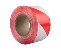 Bb-verpackungen Ohg - 18x Absperrband 75mm x 500m rot/weiß Signalband Warnband Flatterband