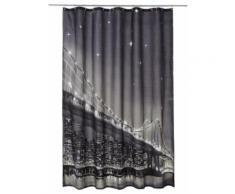 LED-Duschvorhang Brooklyn Bridge in weiß von bonprix