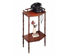 Telefontisch Braun