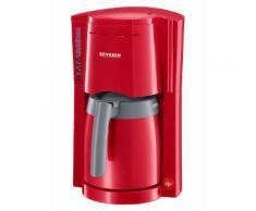 Severin Kaffeemaschine mit 2 Thermokannen Severin rot