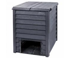 Komposter Thermo Wood, 400 l, inkl. Bodengitter, anthrazit