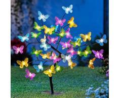 LED-Baum Schmetterlinge