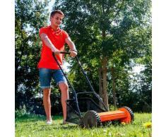 Spindel-Rasenmäher inkl. Grasfangkorb