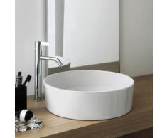 Kartell by Laufen Waschtisch-Schale Ø 42 H: 12 cm weiß, mit Clean Coat H8123314001121