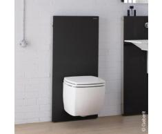 Geberit Monolith Sanitärmodul für Wand-WC H: 114 cm, Glas schwarz 131031SJ5