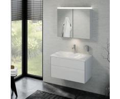 Keuco Royal Reflex Waschtisch mit Waschtischunterschrank und LED-Spiegelschrank, 4017214680450