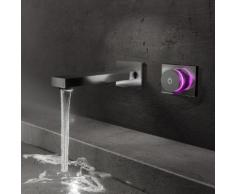Steinberg iFlow vollelektronische Wand-Waschtisch-Armatur chrom 390 1816