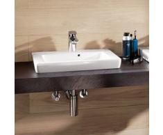 Villeroy & Boch Subway 2.0 Handwaschbecken B: 50 T: 40 cm weiß mit CeramicPlus, geschliffen 73155GR1