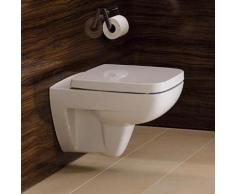 Geberit Renova Compact Wand-Tiefspül-WC L: 48,5 B: 35 cm, Ausführung kurz weiß, mit KeraTect 206145600