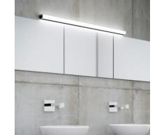 Helestra LADO LED Wandleuchte/Spiegelleuchte B: 120 H: 4 T: 6 cm, schwarz matt/satiniert 18/1814.22, EEK: A+