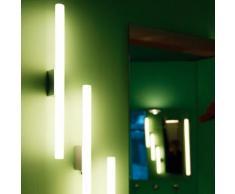 """Top Light Lichtstange """"die schnelle"""" Wandleuchte mit Kippschalter L: 50 B: 4 cm, chrom 2-0302-k, EEK: A"""