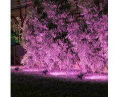MÜLLER-LICHT tint Flores white+color RGBW LED Spießstrahler mit Dimmer, 3er Set, 404041