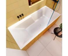 Riho Still Shower Rechteck-Badewanne mit Duschzone L: 180 B: 80 H: 47 cm ohne Füllfunktion BR05005