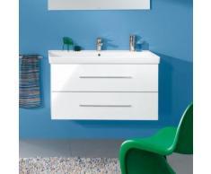 Villeroy & Boch Avento Waschtischunterschrank B: 98 H: 51,4 T: 45,2 cm, 2 Auszüge Front crystal white / Korpus crystal white A89200B4
