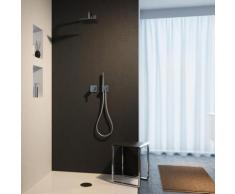 Keuco IXMO Duschsystem, mit Einhebelmischer IXMO, eckig, 4017214661800