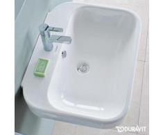 Duravit Happy D.2 Waschtisch B: 60 T: 47,5 cm weiß, mit WonderGliss, mit 1 Hahnloch 23166000001
